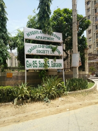 3 BHK Apartment for Rent in Sagavi Apartments - Exterior View