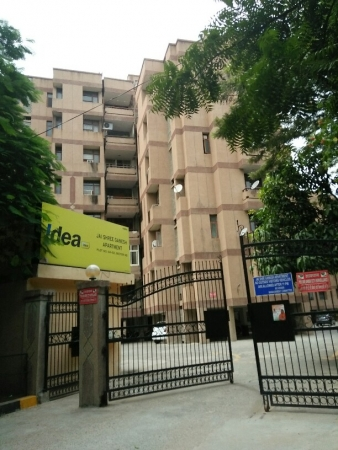 3 BHK Apartment for Rent in Shree Ganesh Apartments - Exterior View