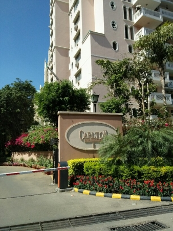 3 BHK Apartment for Rent in DLF Carlton Estate - Exterior View