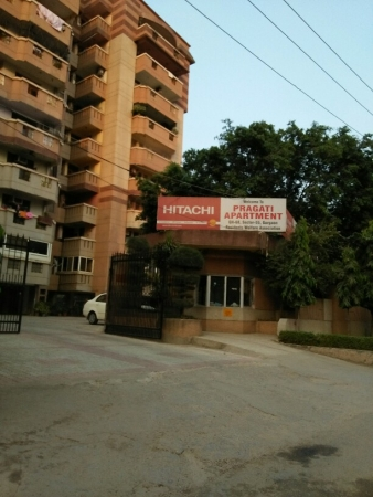 3 BHK Apartment for Sale in Pragati Appartment - Exterior View