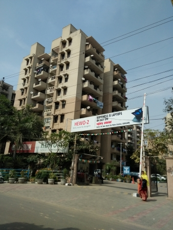 3 BHK Apartment for Sale in Hewo Apartments II - Exterior View