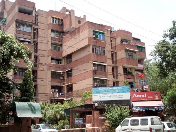 2 BHK Apartment for Sale in Saransh Apartments - Exterior View