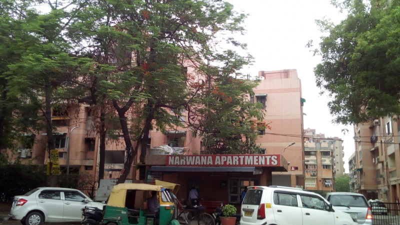 2 BHK Apartment for Sale in DDA Narwana Apartments - Exterior View