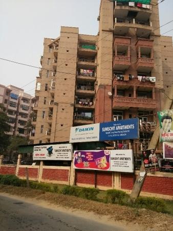 3 BHK Apartment for Rent in Ashray Sunischit Apartment - Exterior View