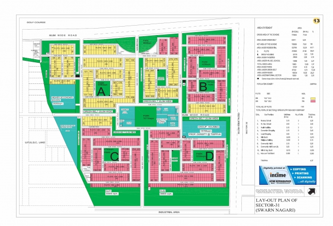 Residential Plot for Sale in Sector Swarn Nagari Greater Noida - Location Map