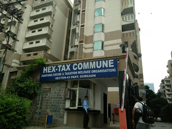 3 BHK Apartment for Rent in Hax Tax Society - Exterior View
