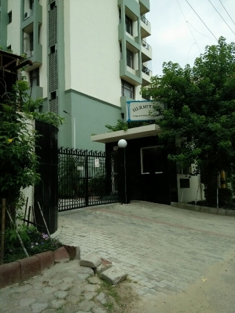3 BHK Apartment for Rent in Hermitage Apartments - Exterior View