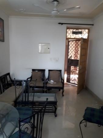 3 BHK Apartment for Sale in Satbari New Delhi - Living Room