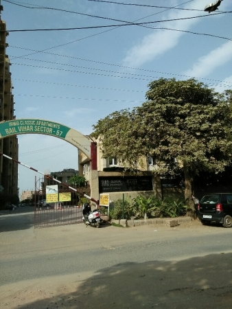 2 BHK Apartment for Sale in IRWO Classic Apartments - Exterior View