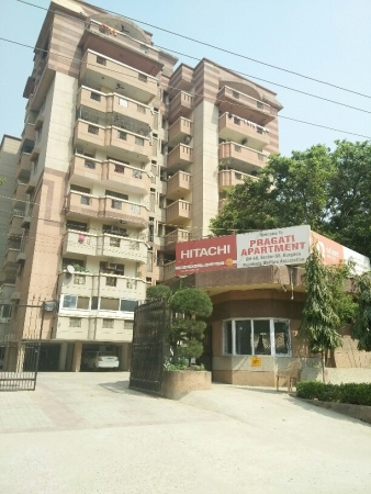 3 BHK Apartment for Rent in Pragati Appartment - Exterior View