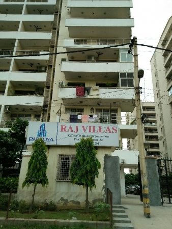 4 BHK Apartment for Sale in Raj Villas - Exterior View