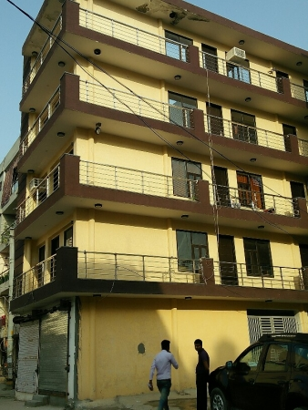 3 BHK Floor for Sale in Aakash Homes - Exterior View