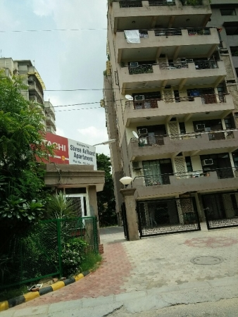 3 BHK Apartment for Rent in Shree Arihant Apartments - Exterior View