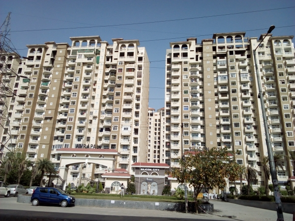 2 BHK Apartment for Rent in Amrapali Silicon City - Exterior View