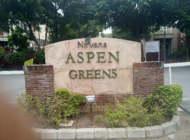 3 BHK Floor for Rent in Unitech Aspen Green - Exterior View