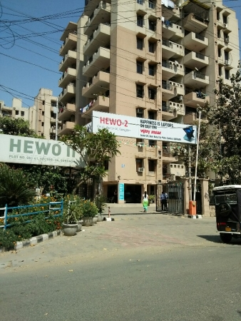 2 BHK Apartment for Sale in Hewo Apartments II - Exterior View