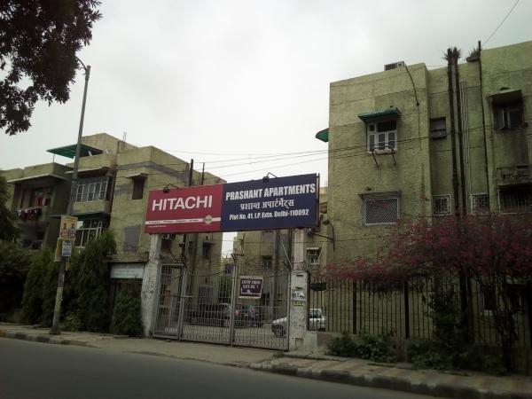 2 BHK Apartment for Rent in Prashant Apartments - Exterior View