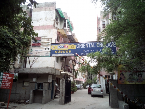 2 BHK Apartment for Rent in Oriental Enclave - Exterior View