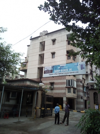 2 BHK Apartment for Rent in Vasant Apartments - Exterior View