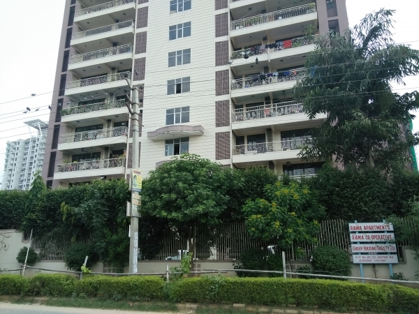 3 BHK Apartment for Rent in The Rama Apartment - Exterior View