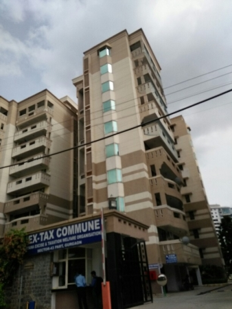 3 BHK Apartment for Sale in Hextax Commune Apartments - Exterior View
