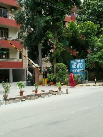 3 BHK Apartment for Rent in Nanu Hewo Apartments 2 - Exterior View