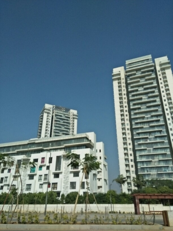 3 BHK Apartment for Rent in Ascott Ireo City - Exterior View