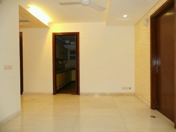 3 BHK Floor for Rent in Sector 7 Faridabad - Living Room