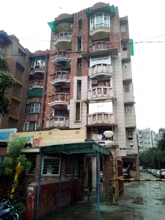 2 BHK Apartment for Sale in Vinayak Apartment - Exterior View