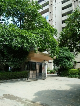 3 BHK Apartment for Rent in Meditech Apartment - Exterior View