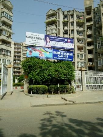 3 BHK Apartment for Rent in Karam Hi Dharam CGHS - Exterior View