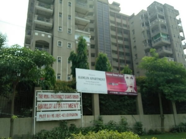 3 BHK Apartment for Sale in Hamlin Apartments - Exterior View