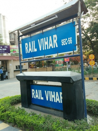 1 BHK Apartment for Sale in Rail Vihar - Exterior View