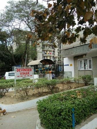 2 BHK Apartment for Sale in AWHO Devinder Vihar - Exterior View