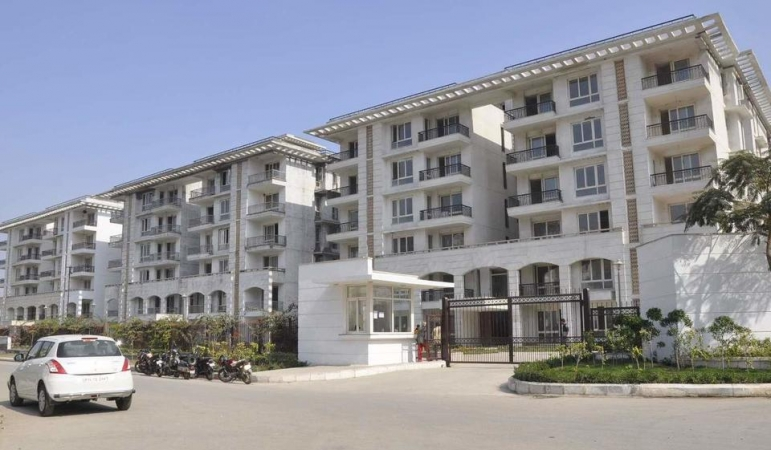 4 BHK Apartment for Sale in Jaypee Greens Augusta Town Homes - Exterior View