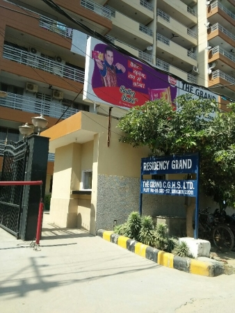 3 BHK Apartment for Sale in Residency Grand - Exterior View