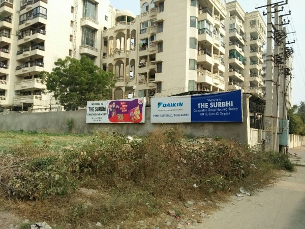 3 BHK Apartment for Rent in Earth The Surbhi CGHS - Exterior View