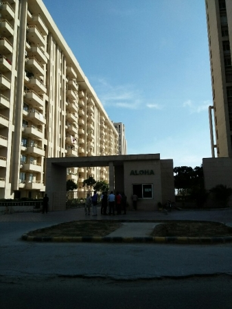 3 BHK Apartment for Rent in AEZ Aloha - Exterior View