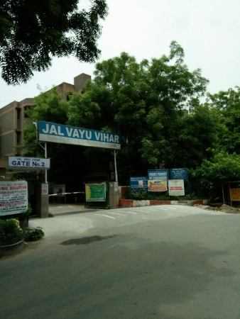 2 BHK Apartment for Sale in Halwasiya Jalvayu Vihar - Exterior View