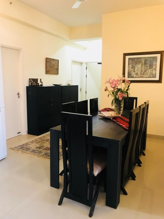 4 BHK Apartment for Rent in Pioneer Araya - Living Room