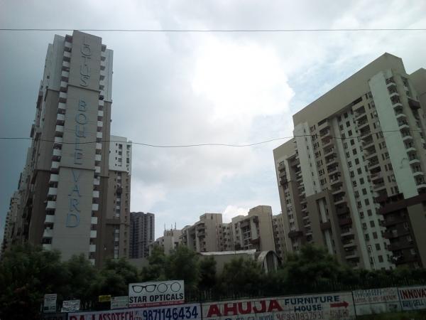2 BHK Apartment for Rent in Three C Lotus Boulevard - Exterior View
