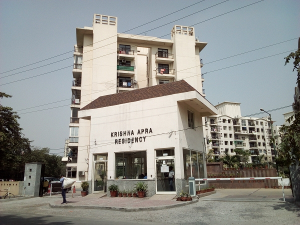2 BHK Apartment for Rent in Mapsko Krishna Apra Residency - Exterior View