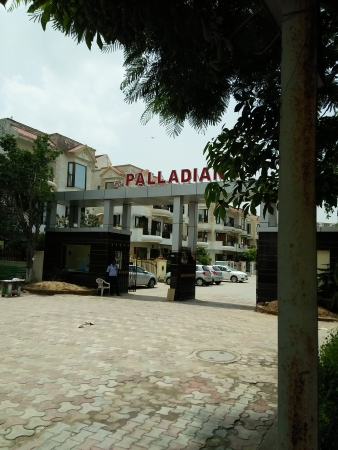3 BHK Floor for Sale in S S The Palladians - Exterior View