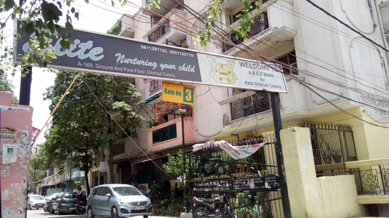 1 BHK Apartment for Rent in Aashirwad Apartments - Exterior View