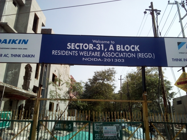 3 BHK House for Sale in Sector 31 Noida - Exterior View