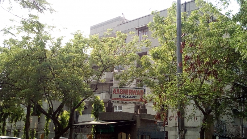 2 BHK Apartment for Rent in Aashirwad Apartment - Exterior View