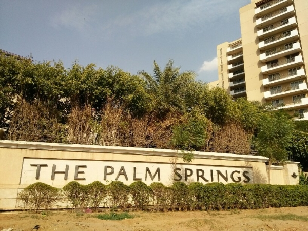 3 BHK Apartment for Rent in Emaar The Palm Springs - Exterior View