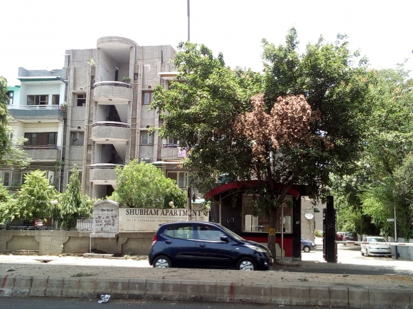 2 BHK Apartment for Rent in DDA Shubham Apartment - Exterior View