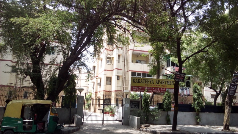 2 BHK Apartment for Rent in Kakateeya Apartments - Exterior View
