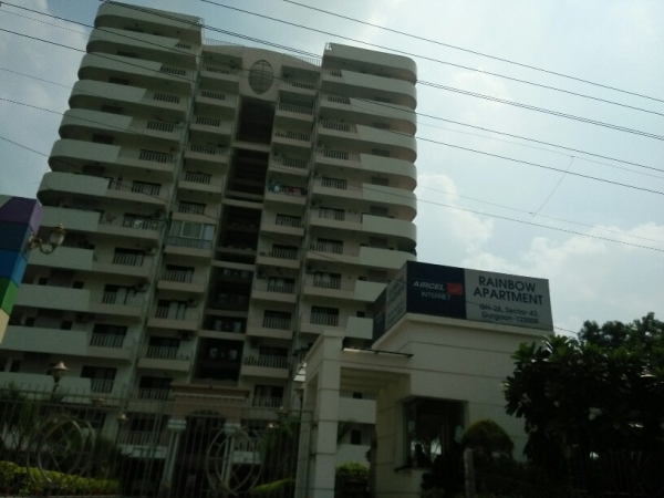 3 BHK Apartment for Rent in Rainbow Apartment Society - Exterior View